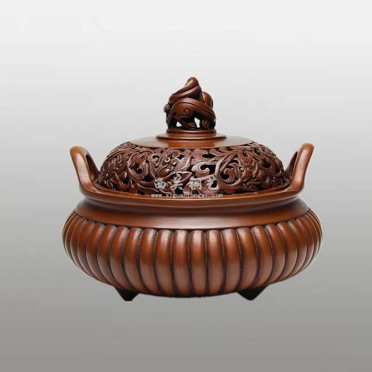 纯铜工艺品摆件定制流程