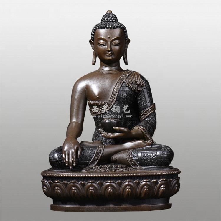 密宗铜佛像释迦牟尼佛