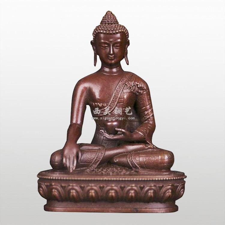 铜佛像 铸铜佛像 释迦牟尼佛像